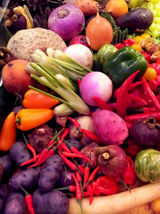 Seizoensgroenten bak - Gezond aan tafel - blog