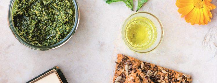 Botanische pesto - Gezond aan tafel - recept