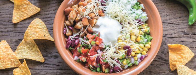 Burrito in een kom - Gezond aan tafel - recept