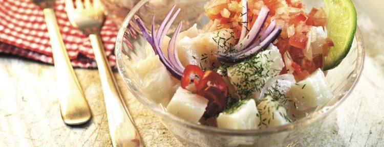Ceviche - Gezond aan tafel - recept