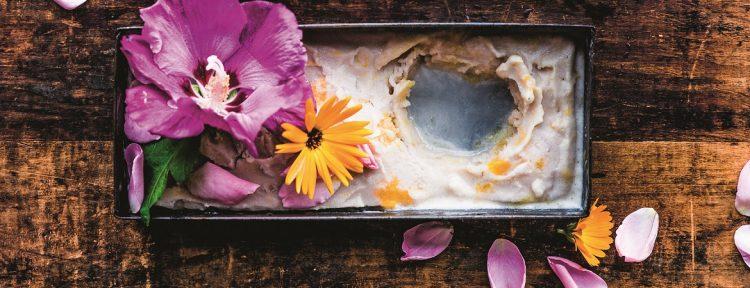 Flowerpower-ijs - Gezond aan tafel - recept