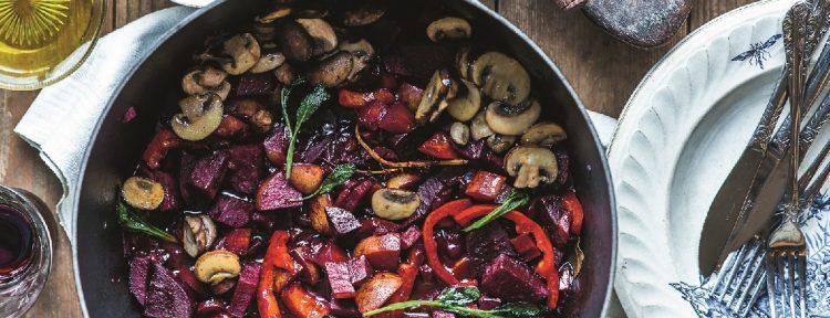 Biet au vin met salie - Gezond aan tafel - recept