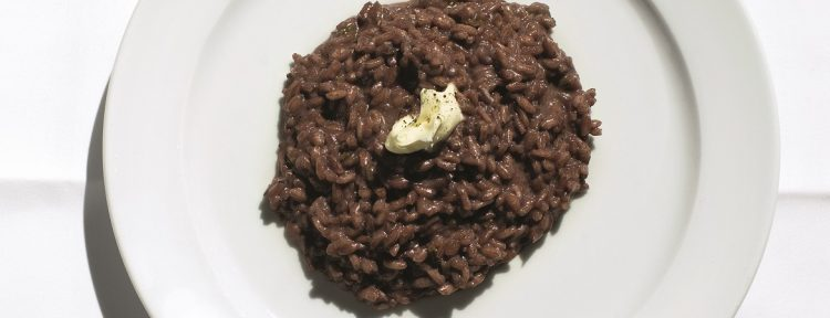 Risotto met amarone di Valpolicella - Gezond aan tafel - recept