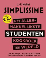 Het allermakkelijkste studentenkookboek ter wereld - Jean-François Mallet.