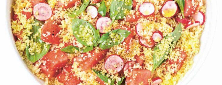 Tabouleh met watermeloen - Gezond aan tafel - recept