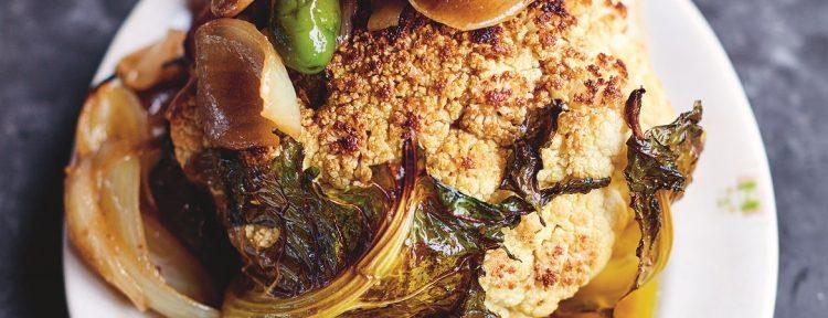 Bloemkool uit de oven (Jamie Oliver) - Gezond aan tafel - recept