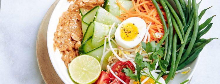 Gado gado salade - Gezond aan tafel - recept