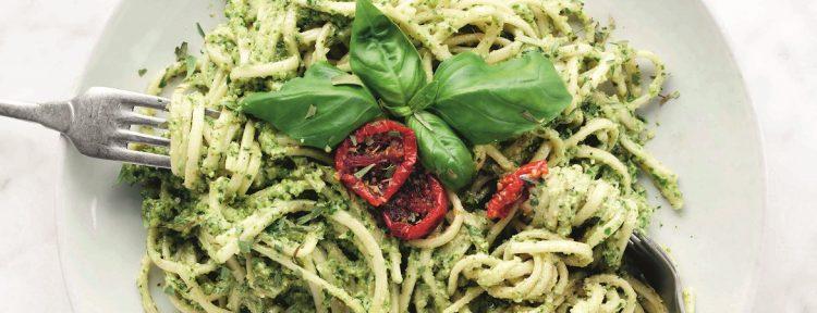 Spinazie-pestopasta - Gezond aan tafel - recept