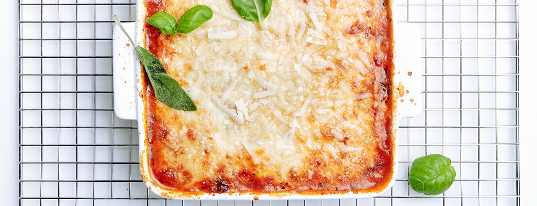Vegetarische groentenlasagne