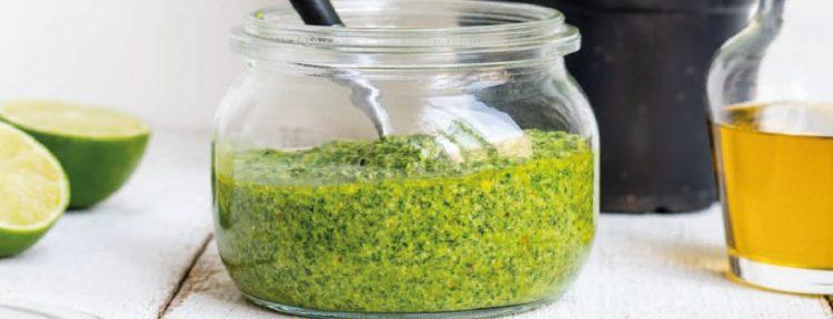Homemade pesto van rucola - Gezond aan tafel - recept
