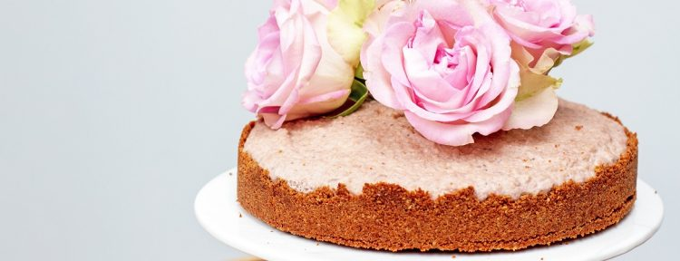 Kokos-aardbeientaart - Gezond aan tafel - recept