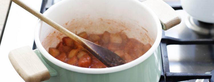 Rabarbercompote - Gezond aan tafel - recept