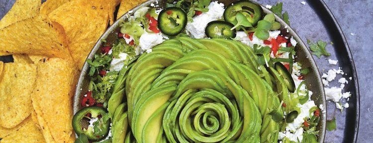 Tortillachips met guacamole van avocado en feta - Gezond aan tafel - recept