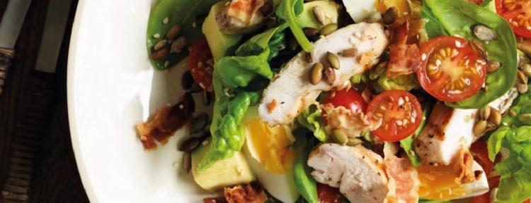 BLT-salade - Gezond aan tafel - recept