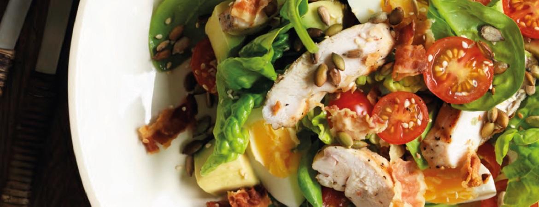 BLT-salade