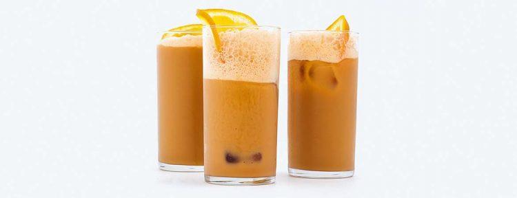 Frappé met sinaasappel - Gezond aan tafel - recept