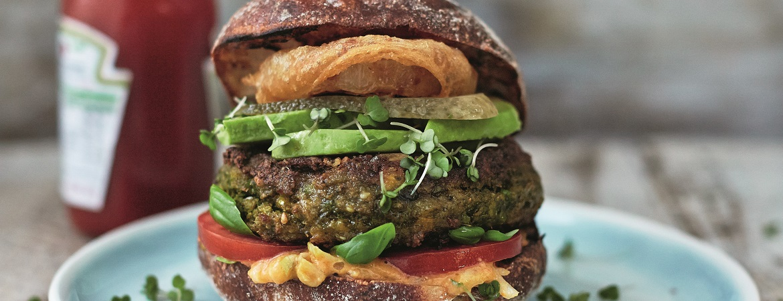 Briljante groenteburger (Jamie Oliver)