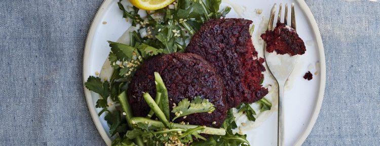 Falafelburgers met bietjes - Gezond aan tafel - recept