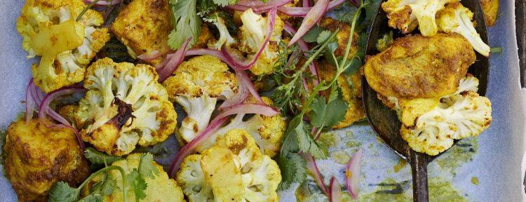 Kipcurry van de bakplaat - Gezond aan tafel - recept
