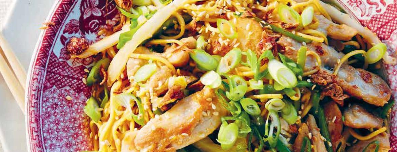 Chow Mein Now (tjap tjoy met noedels)