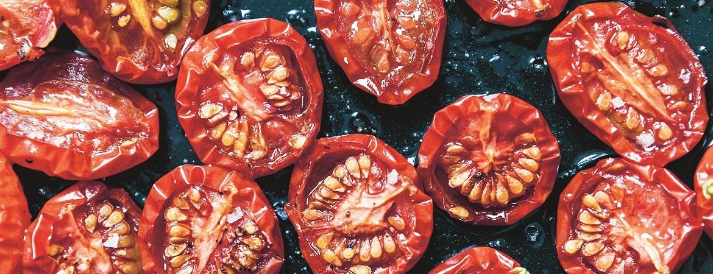 Maangedroogde tomaten