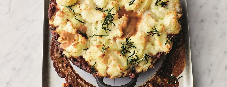 Cottage pie uit de moestuin met knolgroenten (Jamie Oliver)