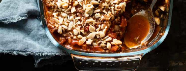 Auberginelasagne - recept - Gezond aan tafel