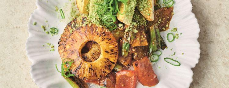 Sticky paprika met miso (Jamie Oliver) - Gezond aan tafel - recept