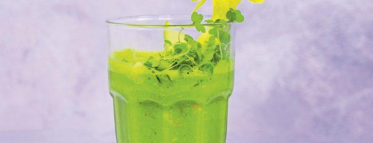 Green energy smoothie - recept - Gezond aan tafel